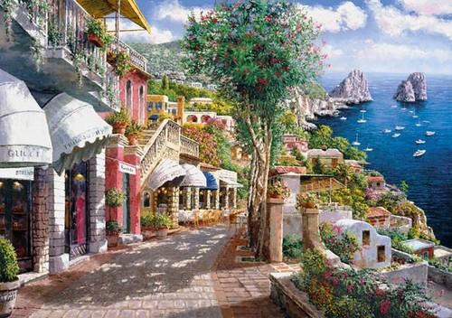 Clementoni 1000 Parça Puzzle Capri 39257.5