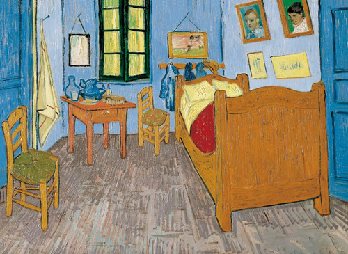 Clementoni 3000 Parça Puzzle Van Gogh - La Camera Ad Arles 33535.0
