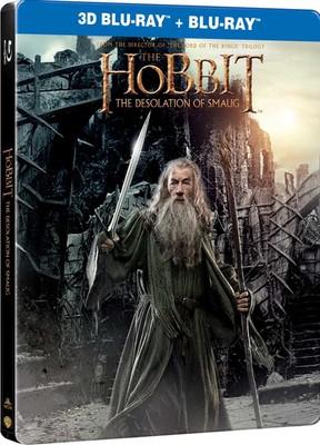 Hobbit: The Desolation Of Smaug (Steelbook) - Hobbit: Smaug'un Çorak Topraklari (Metal Kutu)