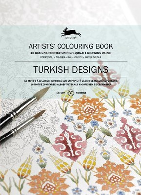 Turkish Designs: Artists' Colouring Book