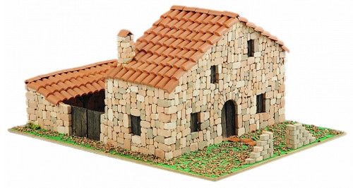 Domenech Casa Rural C.Corral  Tas Ev Maketi DOM03-3601
