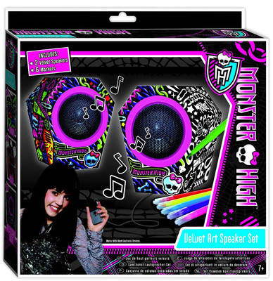 Fashion Angels Monster High Tasarim Seti - Havali Hoparlörüm LTY64033