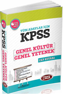 Data KPSS G.Y - G.K Cep Kitabı 2014