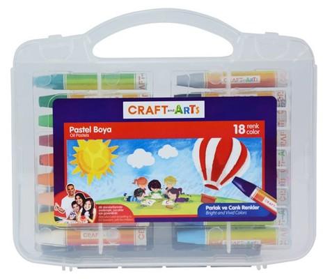 Craft And Arts Pastel Boya 18'Li U1918 51005826