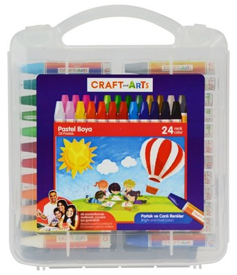 Craft And Arts Pastel Boya 24'Lü U1924 51005827