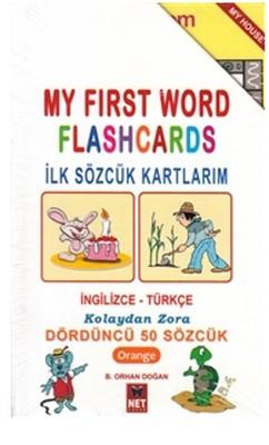 My First Word Flashcards-Dördüncü 50 Sözcük