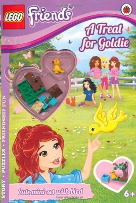 Lego Friends - A Threat For Goldie Act. Book With Mini Set