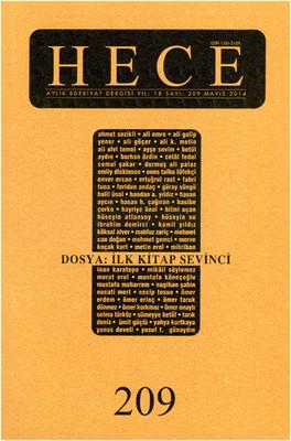 Hece Aylık Edebiyat Dergisi Sayı: 209