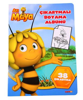 Arı Maya Çıkartmalı Boyama Albümü