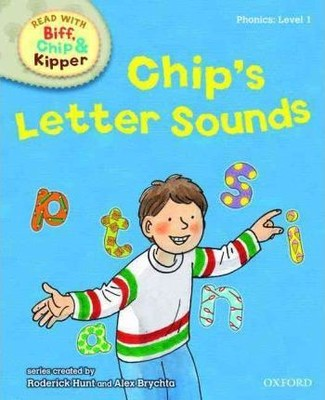 ORT Read With Biff, Chip and Kipper PHONICS Level 1 Chip's Letter Sounds