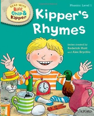 ORT Read With Biff, Chip and Kipper PHONICS Level 1 Kipper's Rhymes