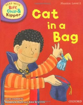 ORT Read With Biff, Chip and Kipper PHONICS Level 2 Cat in a Bag
