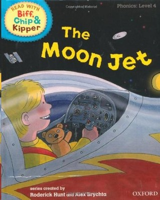 ORT Read With Biff, Chip and Kipper PHONICS Level 4 The Moon Jet