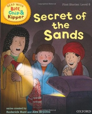 ORT Read With Biff, Chip and Kipper FIRST STORIES Level 6 Secret of the Sands