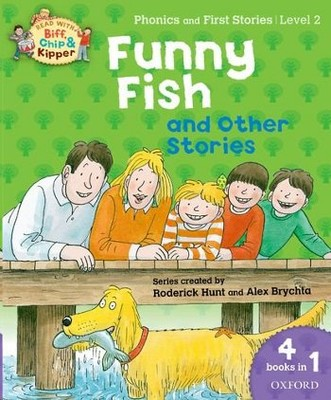 Oxford Reading Tree Read With Biff, Chip, and Kipper: Level 2 Funny Fish