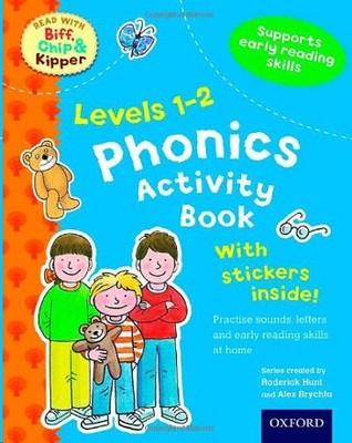 Level 1-2 Phonics Activity Book