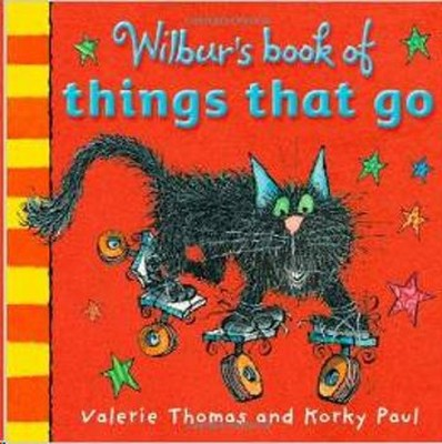 Wilbur's  Book Of Thıngs That Go (Apr) Board