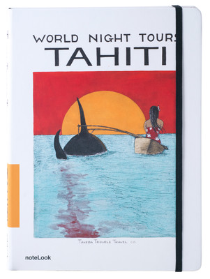 Notelook Takeda A6 Tahiti Çizgisiz Not Defteri
