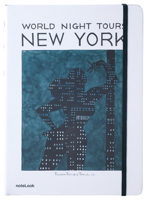 Notelook Takeda A6 Newyork Çizgili Not Defteri