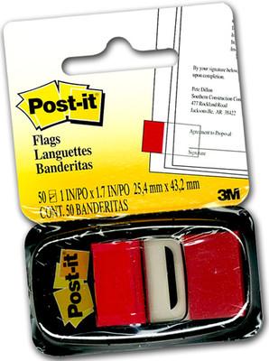 Post-It Index- İşaret Bandı Kırmızı 50 Yaprak 680-1