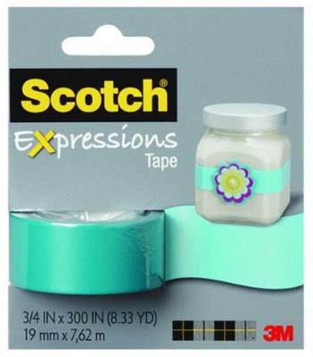 Scotch  Renkli Bant Mavi C214-Blu