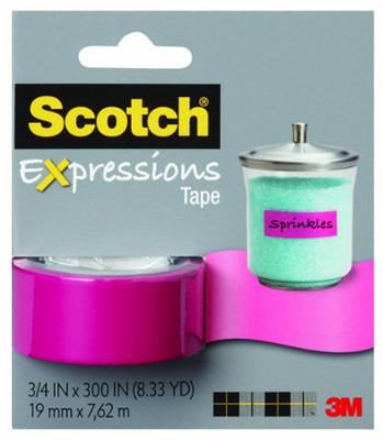Scotch  Renkli Bant Pembe C214-Pnk