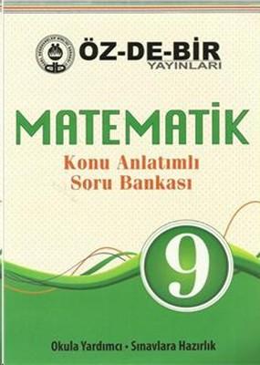 9. Sınıf Matematik Konu Anlatımlı Soru Bankası