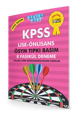 Akıllı Adam KPSS Lise-Önlisans Ösym Tıpkı Basım 8 Fasikül Deneme