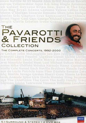 Pavarotti & Friends Collection - The Complete Concerts 1992 - 2000 (Dvd)