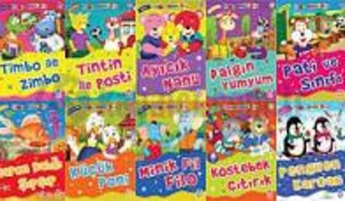 Mini Masallar - 3 (10 Kitap Set)