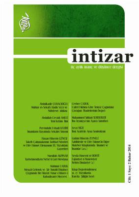İntizar Dergisi Sayı: 2 Cilt: 1