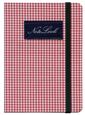 Notelook Cotton A5 Kırmızı Çizgili