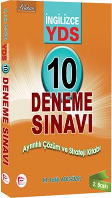 İngilizce YDS 10 Çözümlü Deneme
