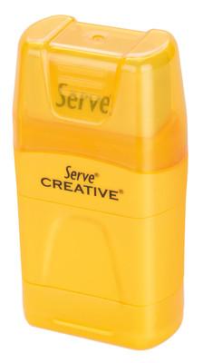 Serve Creative Kalemtraş Silgi Sarı Tekli Sv-Er1S