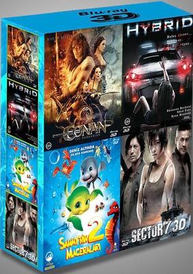 3D Blu-Ray Box Set (Conan - Sector 7 - Hybrid - Sammy 2)