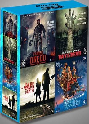 3D Blu-Ray Box Set (Dredd - Day Of Dead - Dark Country - Snow Queen)