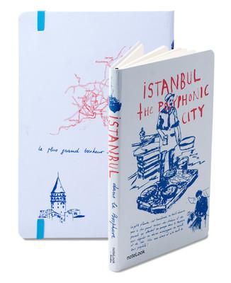 Notelook İstanbul Balıkçı Çizgisiz A5