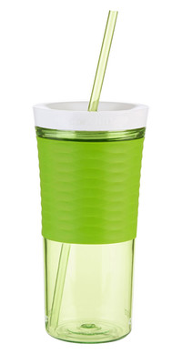 Contigo Autoclose Tumbler With Straw Citron-Yesil 1000-0325