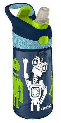 Contigo Autospout Kids Striker Water Bottles Lacivert Robot 1000-0347