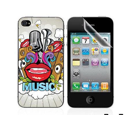Ttec Taks Arka Yüzey ve Ekran Koruyucu iPhone 4/4S  Taks 10 2EKR7509