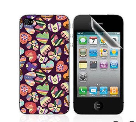 Ttec Taks Arka Yüzey ve Ekran Koruyucu iPhone 4/4S  Taks 03 2EKR7502