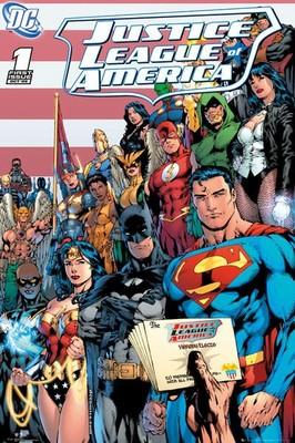 Dc Comics Justice League Cover FP3146