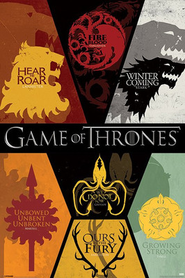 Game Of Thrones Flags PP33277