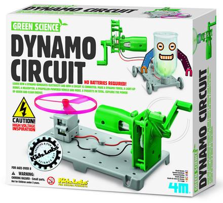 4M Green Science Dynamo Circuit Board / Dinamo Devre Panosu 3361