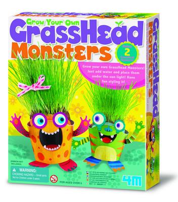 4M Grass Head Growing Kit / Çim Kafadarlar 4650