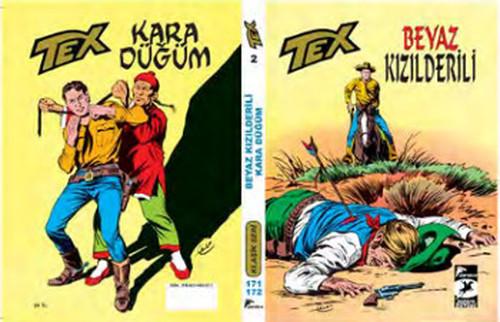 Tex Klasik Seri 2 - Beyaz Kızılderili -  Kara Düğüm