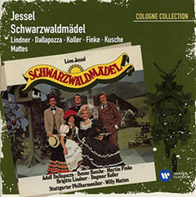 Jessel: Schwarzwaldmaedel