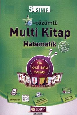 Anafen 5.Sınıf E-Çözümlü Multi Kitap Matematik