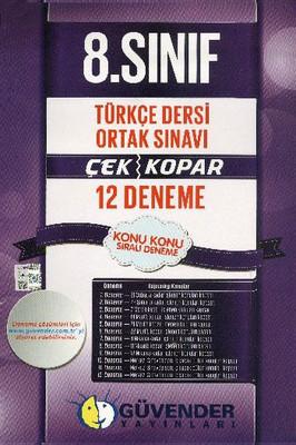 Güvender 8 Sınıf 12 Deneme Türkçe