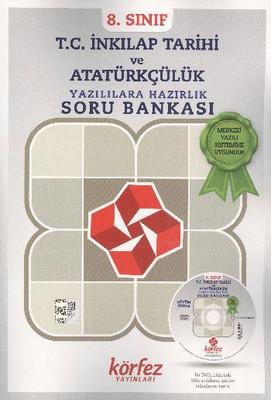 Körfez 8. Sınıf TC İnkılap Tarihi ve Atatürkçülük Yazılılara Hazırlık Soru Bankası Çözüm Dvd'li